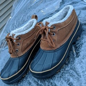 Women's Bass Insulated Lace Up Duck Shoes 6M